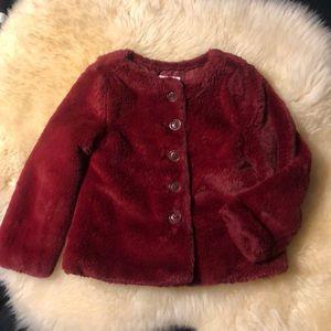 Old Navy Faux Fur Toddler Coat